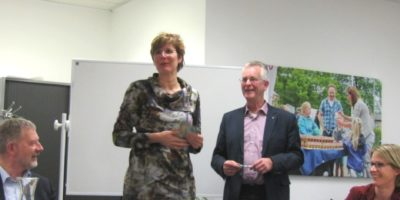 CDA kandidaten op bezoek bij Welzijn Barneveld