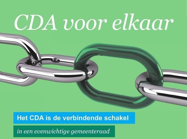CDA: op reis; naar een nog beter Barneveld!