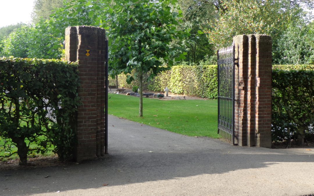 Met de uitbreiding van begraafplaats kan worden begonnen