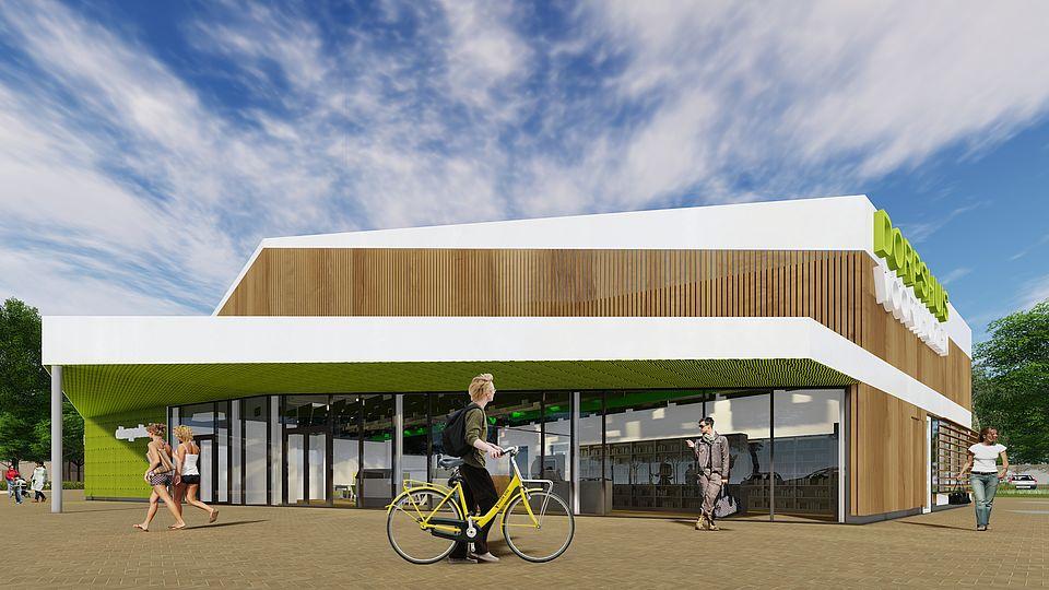 Het nieuwe dorpshuis in Voorthuizen gaat er komen!