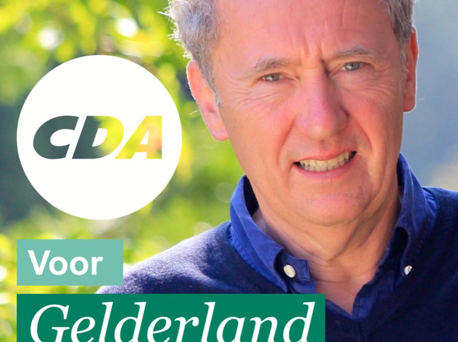 Gelderse CDA kandidaat voor de Europese verkiezingen Henk Jan Ormel bezoekt Barneveld