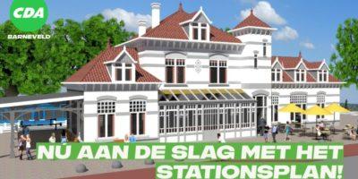 Nú aan de slag met stationsplan!