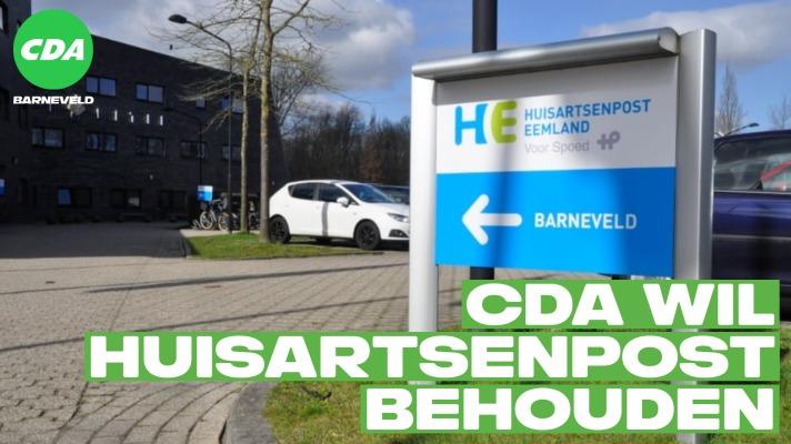 CDA wil huisartsenpost behouden